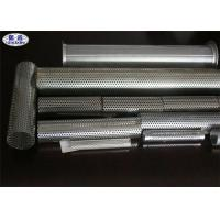 China Metal Perforated Stainless Steel Pipe For Liquids / Solids / Air Filtration wholesale