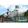 China Grande résine d'Ashland de terrain de jeu de parc aquatique/DSM pour le jeu drôle de famille wholesale