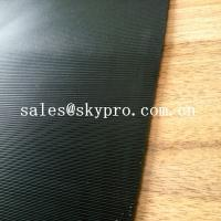 China 3.5mm Diamond Black Rigid Rational Construction Natural Shoe Sole Rubber Sheet on sale