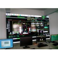 China 5.3mm Slim Bezel Monitor LCD Video Wall 4x4 1920 X 1080 Resolution RS232 Cable on sale