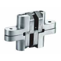 China Spring Closing Stainless Steel Concealed Hinges , Invisible Hinges For Interior Doors wholesale