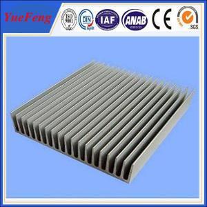 China large aluminum profile flat heat sink for led street light wholesale
