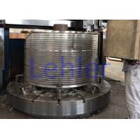 China Stainless Steel Johnson Screen Basket Flow Outside To Inside Type High Velocity wholesale