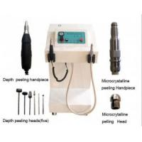 China At home Crystal And Diamond Microdermabrasion Equipments Treatment Sun damaged skin wholesale