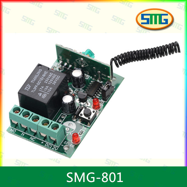 Quality Gate RF Remote Control Transmitter And Receiver Circuit SMG-801 for sale