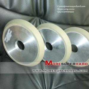 China 1V1 resin bond diamond grinding wheel for crystal wholesale