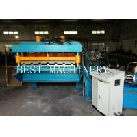 China 30M/MIN High Speed Roofing Sheet Tile Roll Forming Machine Gear Box Driven on sale