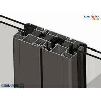 China Alloy 6063 T5 Thermal Break Aluminium Extruded Profile 1.2 Milimeter Thickness wholesale