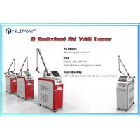 China New Design Q-switch ND Yag Q Switched Laser Tattoo Removal freckle removal machine on sale
