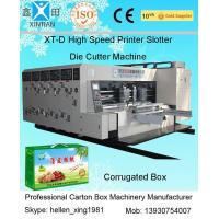 China High Precision Printing Carton Making Machine With Remote Computer Diagnosis System wholesale