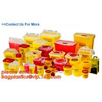 China BIOHAZARD SHARP CONTAINERS, STORAGE BOX, CRATES, PET FOOD BOWL, DUSTBINS, PALLETS, BOXES, BANGDAGES wholesale