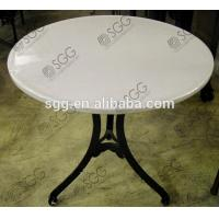 China round glass used for dining table wholesale