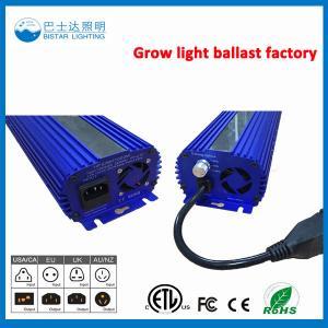 China grow light ballast Electronic ballast for UV lamp hps lamp wholesale