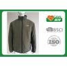 China Breathable Outdoor Fleece Hunting Clothing , Men Windproof Fleece Jacket wholesale