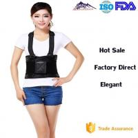 China Customized Size Lumbar Support Brace / Waist Protection Belt With Suspenders wholesale