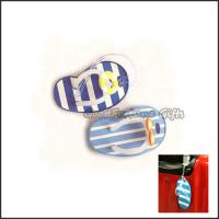 China Customed promotional Eco pvc slippers tavel luggage bag tag lable printed logo on sale