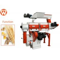 China 22Kw 3Mm Pellet Chicken Feed Pelletizer Machine For Quail Feed Manufacturing wholesale