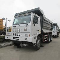 China Diesel Type Ten Wheels 6x4 Mining Dump Truck With 70 Ton Capacity ZZ5707S3840AJ wholesale