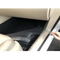 China Polyethylene Protective Film / Solvent Adhesive Clear Carpet Protector Film For Cars wholesale