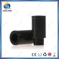 China 510 Carbon Fibre Drip Tip E cig Ego Starter Kit Flat Without O ring wholesale