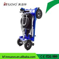 China automatic folding new light mobility scooter with aluminum frame and lithium battery  from chinese manufactory with CE wholesale