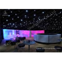 China Pretty Lightings Onaments Luxury Wedding Tents with Anodized Aluminum Frame wholesale
