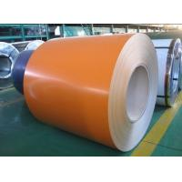 China Finishing Color Coated Steel Coil Sheet Metal For Greenhouse Pipelines , S350GD + Z / CGCC wholesale