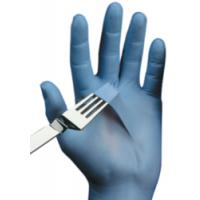 China Diposable OEM white nitrile gloves wholesale