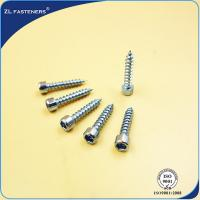 China Customized Zinc Plated Steel High Tensile Screws OEM / ODM Acceptable wholesale