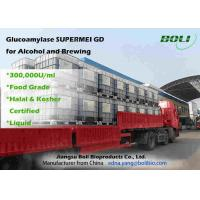 Buy cheap Liquid 300000 U / ml Glucoamylase Enzyme High Enzyme Activity For Alcohol And from wholesalers