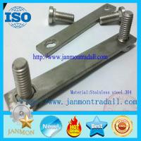 Stainless steel bolts,Stainless steel round head bolts,Stainless steel bolts with metal plates,Bolts with metal plates