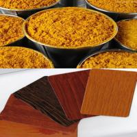 China Thermal Transfer Color Powder Coatings With Wood Sand Texture on sale