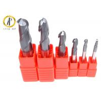 China High Performance Miniature Carbide End Mills Metric Ball End Mill Bits ALTiN Coating wholesale
