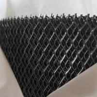 China 6 * 12 MM Hole Expanded Metal Mesh for Vietnam 0.8MM Thickness wholesale