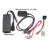 China SATA & IDE to USB IO Adapter, 2A Power Supply wholesale