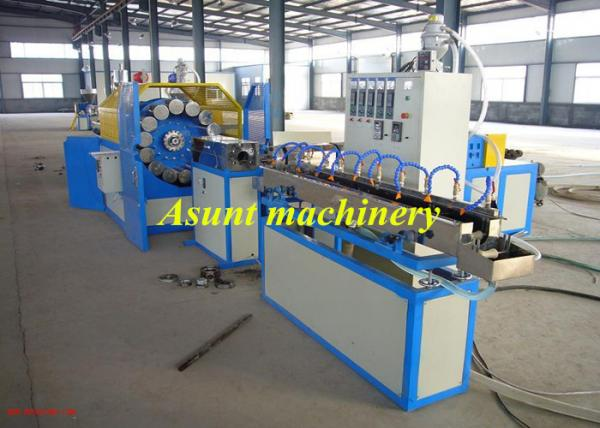 Quality 15-60mm PVC Pipe Making Machine , Fiber Hose PVC Pipe Production Line for sale