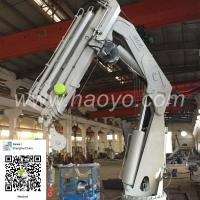 China All Specifications of Folding Marine Ship Deck Boat Crane for sale wholesale