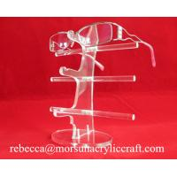 China Acrylic high quality glasses display rack / glasses holder/ plexiglass sunglasses stand wholesale