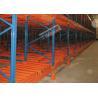 China 1500 Kg Max Load Material Handling Racks Storage Push Back Racking For Freezers wholesale