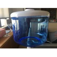 China Blue Translucent Filtered Water Dispenser , 8L Food Grade Flat PP Water Tank wholesale