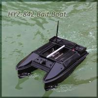 China HYZ-600 Portable Catamaran remote control Fishing Bait Boat Sailing 500meters on sale