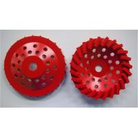 """China 180mm Swirl Diamond Grinding Wheels For Stone / Brick / Block / Concrete, Center hole with 22.23mm or M14 or 5/8""""-11 wholesale"""