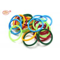 China Universal Coloured FKM O Rings Sealing , Heat Resistant O Ring AS568 wholesale