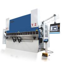 China WC67K 110T3200 hydraulic sheet metal bending machine CNC press brake wholesale