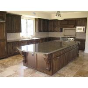 China Countertops - Tropical Brown Granite Island Tops For Kitchen Design wholesale