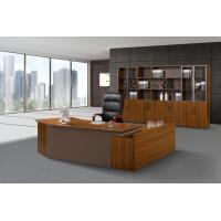 China MDF Panel Office Desk With Drawers , Office Furniture Executive Desk Oil Proof wholesale