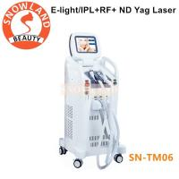 China 3 IN1 Hair Removal Machine nd yag Laser Tattoo Removal Machine Factory Price wholesale