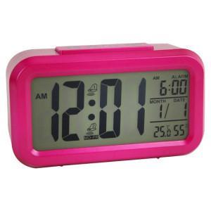 China Mute Electronic Clock, Fashion LED Alarm Clock on sale