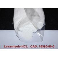 China CAS 16595-80-5 White Crystalline Pharmaceutical Raw Materials Levamisole Hydrochloride HCL Powder wholesale