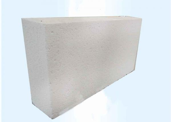 Quality White Alumina Bubble Refractory Fire Bricks For High Temp Kilns Light Weight for sale